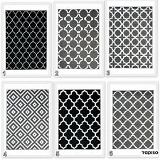 New Modern Trellis Moroccan Rug Geometric Pattern Contemporary Design Area Rugs