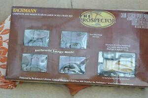 BACHMANN G GAUGE 90070 'THE PROSPECTOR' LARGE SCALE TRAIN SET
