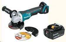 "Makita XAG06Z 18V LXT Li-Ion Brushless 4-1/2"" Angle Grinder with 5.0Ah Battery"