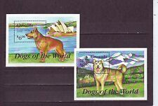 Grenadian Dogs Pet & Farm Animal Postal Stamps