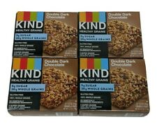 Kind Double Dark Chocolate 4 Boxes (5ct 5X4= 20 Bars) Best it 1/24/20