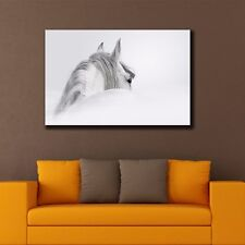 Horse Stretched Canvas Prints Framed Hanging Wall Art Giclee Home Decor Painting