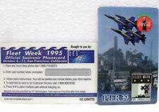 Coca-Cola - FLEET WEEK 1995 - OFFICIAL PHONECARD-SAN FRANCISCO-PUZZLE 3di 3
