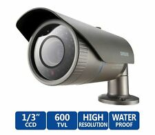 Samsung SCO-2080R IR Bullet Security Camera Day / Night CCTV Surveillance