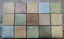 Claycraft Vintage Field Tiles-Set of 15