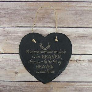 Personalised Birthday Home Gift Slate PlaqueKeepsake Memorial Remembrance