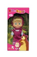 Doll Masha and the Bear Masha in a crimson sarafan Rare Juguete masha y el oso