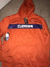 Clemson Tigers 2018 Nike Sideline Orange Hoodie Sweatshirt XXL