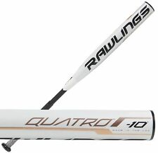 "2019 Rawlings Quatro -10 34""/24 oz. Women's Fastpitch Softball Bat FP9Q10"