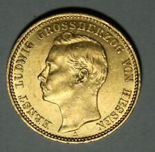 20 Mark Gold Hessen 1911