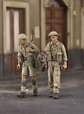 Royal Model 1/35 British Infantry Patrol in Sicily 1945 WWII (2 Figures) 576