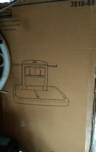 New Rubbermaid wall mounted baby changing table station! Model 7818-88