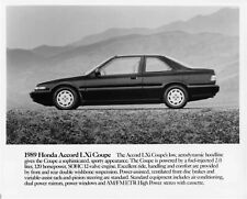 1989 Honda Accord LXi Coupe Press Photo 0019