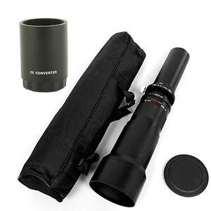 650mm-2600mm Telephoto Zoom Lens fo Nikon D3000/3100/3200 D5000 D5100 D5200 D700