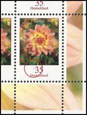 Dahlie 35 Cent, Feld 10: Fleck vor Wertziffer, Zehnerbogen, postfr., Mi.Nr. 2505