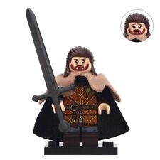 Lord Eddard Stark - Game of Thrones Warrior Lego Moc Minifigure Gift For Kids