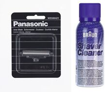 PANASONIC WES 9942Y SCHERMESSER ES-SA40, ES3042, + BRAUN REINIGUNGS SPRAY 100ML
