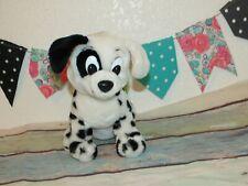 """VTG Applause Disney 101 Dalmatians Patch Eye Ear Puppy Dog Stuffed Plush Toy 9"""""""