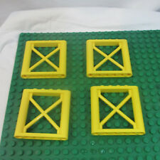 Lego Lot of 4 City girder Scaffold Bars 64448 Yellow From 5887 7632 10667 replac