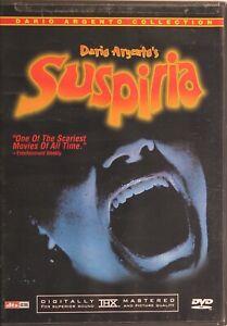 SUSPIRIA DVD - 1977 - Daria Argento - Horror - New Old Stock - FREE POST!