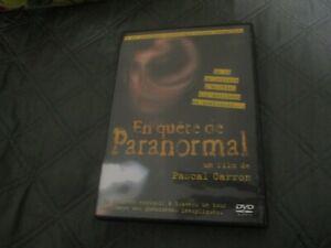 """DVD """"EN QUETE DE PARANORMAL"""" documentaire de Pascal CARRON"""