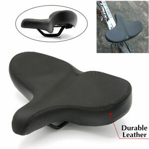 Bike Seat Oversize Comfortable Bicycle Saddle Extra Wide Replacement Universal