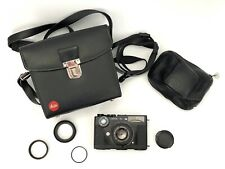 Leica CL With Leica Summicron-C 40mm 1:2 plus case and accessories