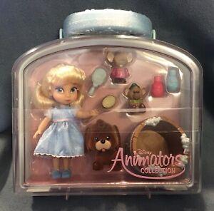 Disney Store Disney animator's Collection Mini Doll Play Set Cinderella