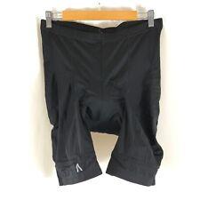 Primal Mens Prisma Cycling Shorts Padded Black Stretch Size 2Xl