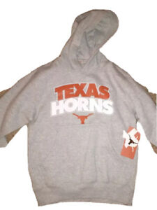 BRAND NEW! TEXAS LONGHORNS HOODIE, SIZE SMALL
