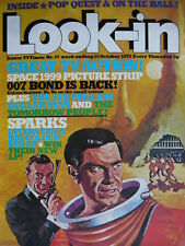 LOOK-IN MAGAZINE 25TH OCT 1975 - SPARKS POSTER!!