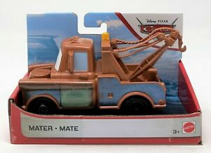 Disney Pixar Cars Mater Tow Truck Hook 12cm Vehicle Car Toy Ice Racer Packaging