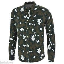NWT~Adidas Original AOP CAMOUFLAGE PRINTED Dress SHIRT Button Down CAMO~Men sz M