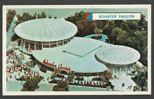 1963 PPC* NY WORLDS FAIR FOR 1964-65 SCHAEFER BEER ADVERTISING CARD SEE INFO