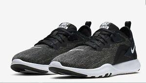 Nike Flex Trainer Women's Athletic Sneaker Workout Gym Grey Black (AQ7491 002)