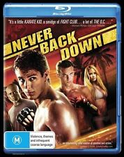 Never Back Down NEW B Region Blu Ray