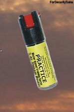 Inert Pepper Spray Practice Training 1/2 oz. Water Base Stream