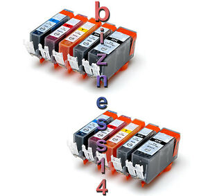 10 INK for CANON IP4700 MP550 MP560 MP630 MP640 MX870 +