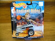 1998 Hot Wheels RADICAL RIDES Mattel TIM DUNCAN San Antonio Spurs Nice NBA NIP