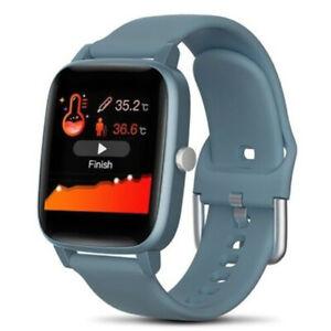 Smart Watch 2021 Monitoraggio temperatura corporea ossigeno sangue SmartWatch