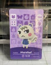 MARSHAL Animal Crossing NFC Amiibo Card #264