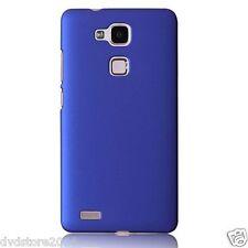 Custodia BACK BLU Cover Case Rigida Hard Mat Plastica Matte per Huawei G8