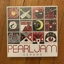Pearl Jam Sevens Vinyl Boxset | Still Sealed Unopened Box Set Lightning Bolt