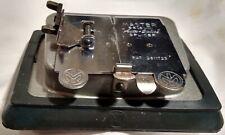 Vintage Mansfield Master Auto-Splicer, 8-16mm, Silent & Sound, box, instructions