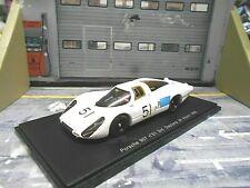 Porsche 907 Lang Heck 24h Daytona 1968 #51 schlesser buzetta Spark resin 1:43