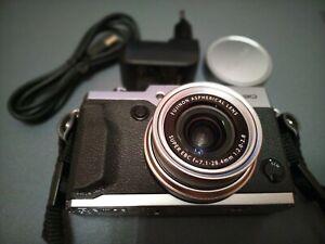 Fujifilm X30 Digital Camera 12Mp Silver