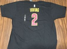 Kyrie Erving T-Shirt Jersey XXL New NWT Adidas Cleveland Cavaliers #2 Black