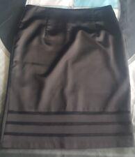 Valentina black pensil women's skirt -