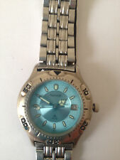 ACCURIST women's watch turquoise bracelet water-resistant stainless-steel case