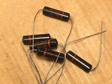 5 Nos Sprague Black Beauty .015 uf 600v Capacitors Vintage Guitar Tone Caps